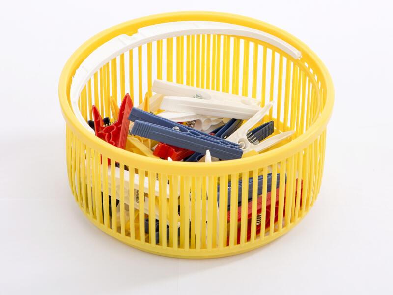 Casibel Mandje met 25 wasknijpers