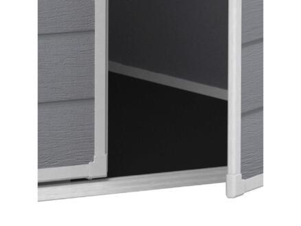 Keter Manor 65 abri de jardin 185x152x226 cm matière synthétique gris