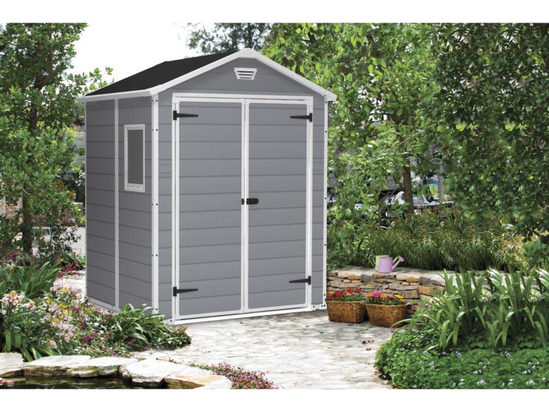 Keter Manor 65 tuinhuis 185x152x226 cm kunststof grijs