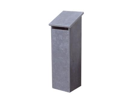 VASP Marbella boîte aux lettres pierre bleue belge