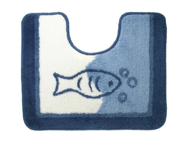 Sealskin Marina WC-mat 45x55 cm blauw