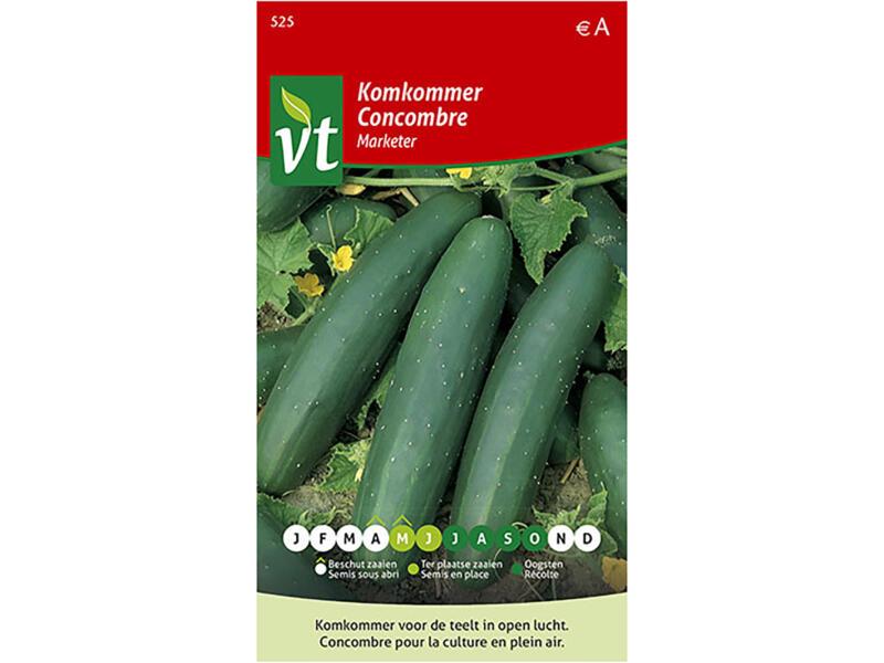 Marketer komkommer