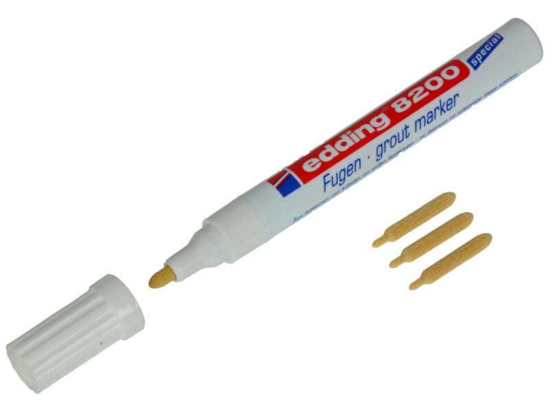 Marqueur de joints blanc
