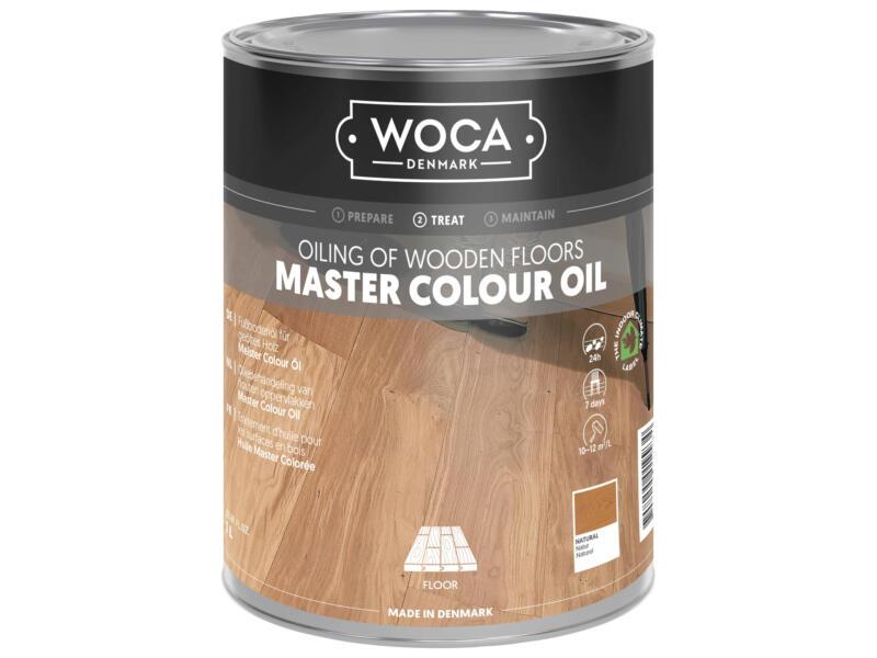 Woca Master Colour huile bois 1l naturel