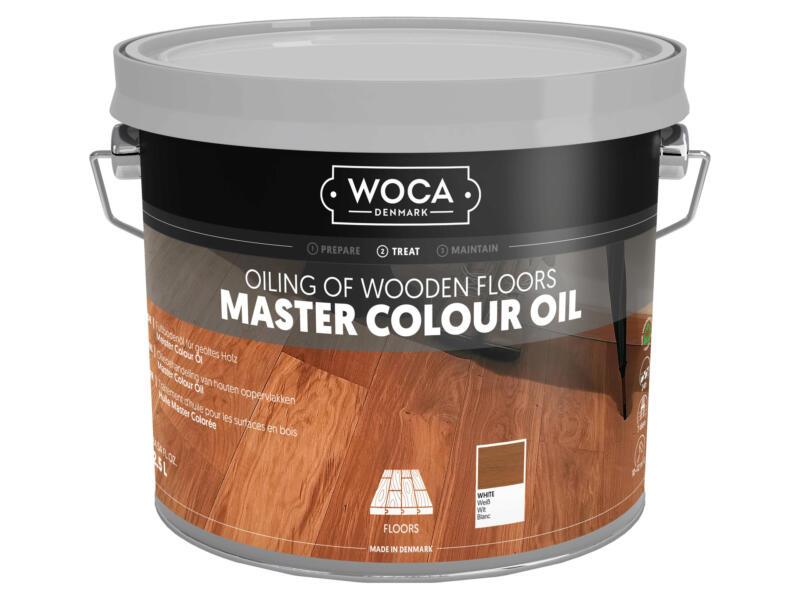 Woca Master Colour olie hout 5l wit
