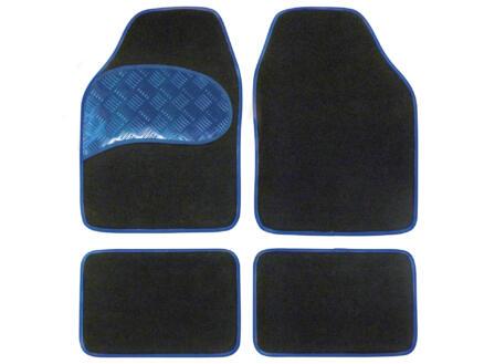 Carpoint Mattenset Sportivo Blue 4 stuks