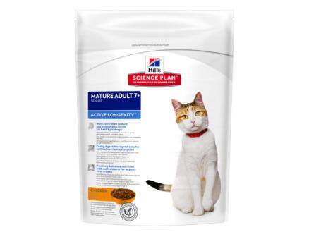 Hill's Mature & Senior Active Longevity Cat croquettes chat chicken 300g