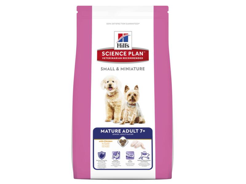 Hill's Mature Adult 7+ Small & Miniature Breed hondenvoer chicken 1,5kg