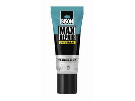 Bison Max Repair Universal alleslijm 45g transparant