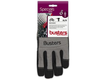 Busters Mechanic gants de protection XL cuir artificiel gris