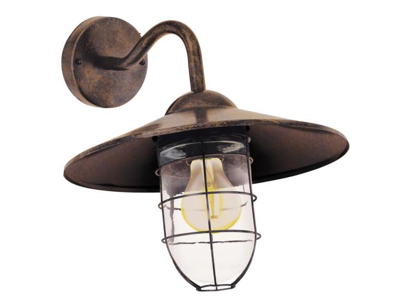 Eglo Melgoa wandlamp E27 max. 60W koper