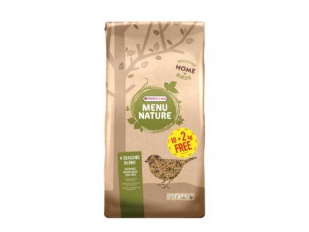 Menu Nature 4 Seasons Blend zadenmengeling 18kg + 2kg gratis
