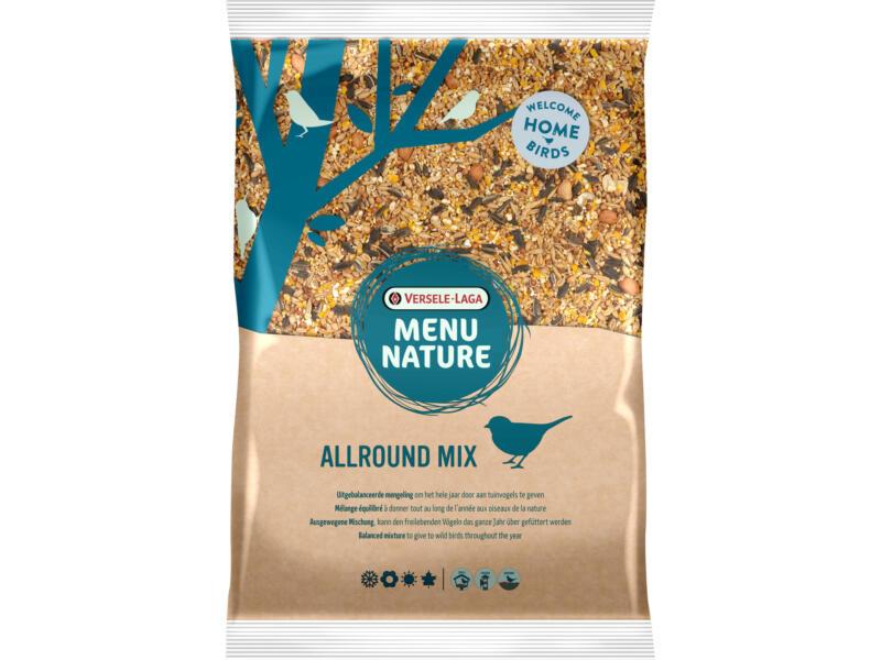 Menu Nature Allround Mix mélange de graines pour oiseaux du ciel 5kg