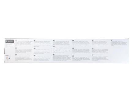 Philips Meranti barre de spots GU10 4x35W chrome mat