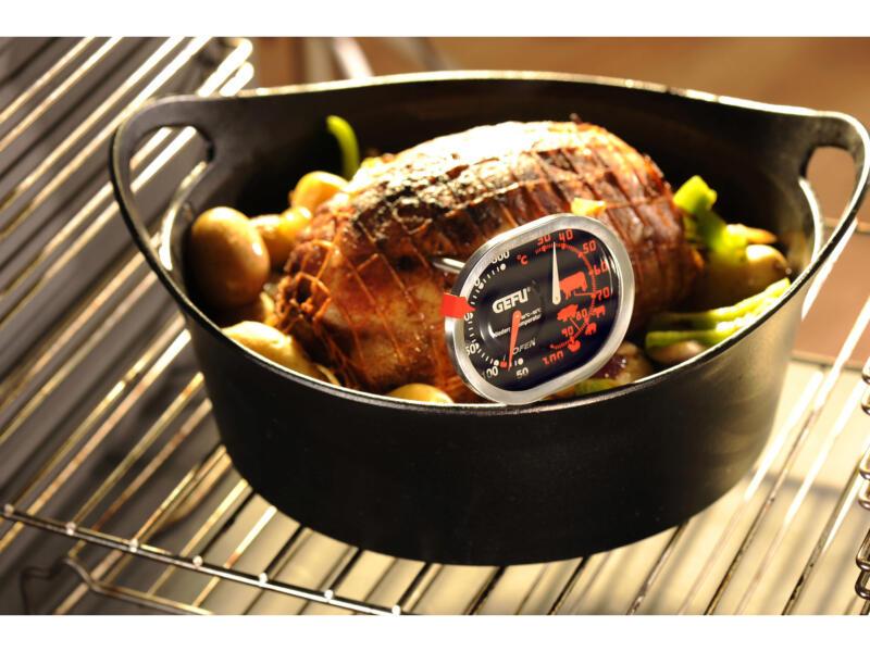 Gefu Messimo thermomètre de cuisine four et cuisson 3-en-1