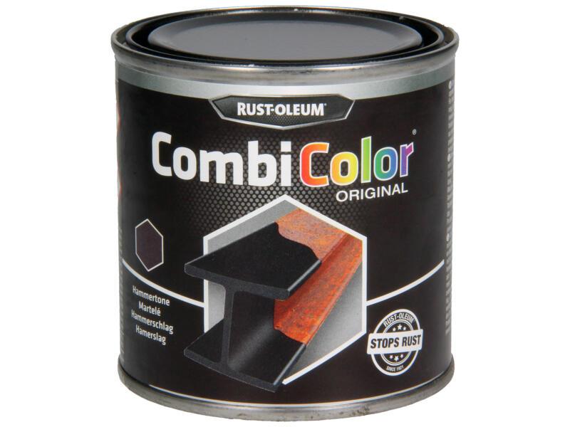 Rust-oleum Metaallak hamerslag 0,25l zwart