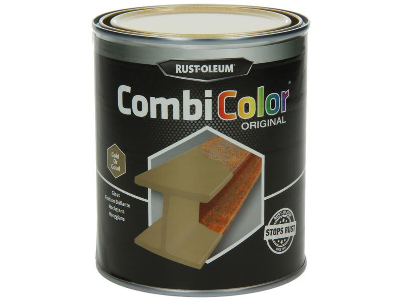 Rust-oleum Metaallak hoogglans 0,75l goud