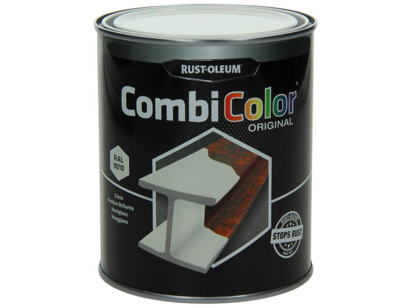 Rust-oleum Metaallak hoogglans 0,75l zuiver wit