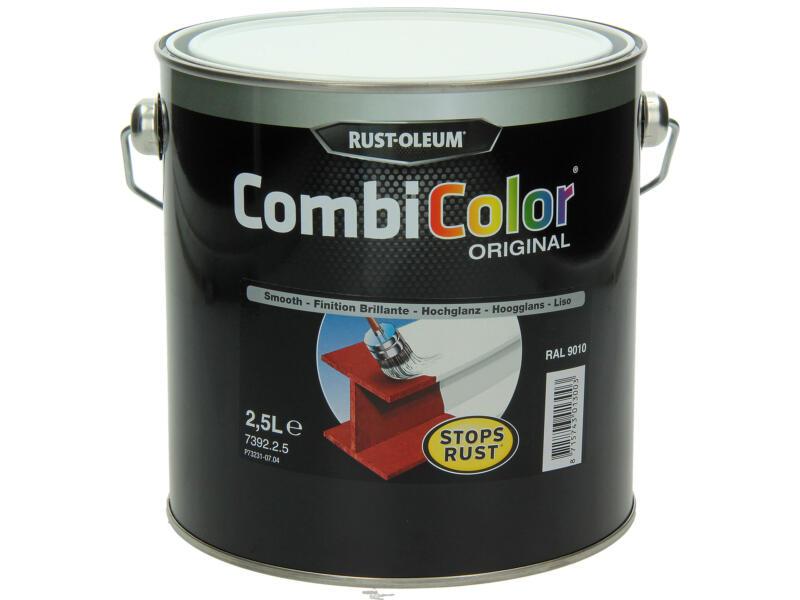 Rust-oleum Metaallak hoogglans 2,5l zuiver wit