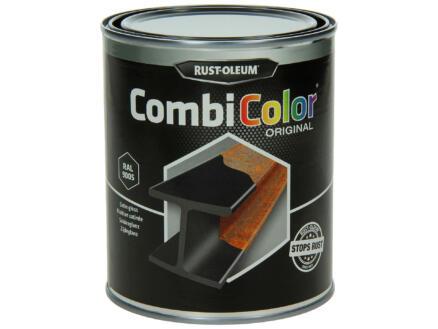 Rust-oleum Metaallak zijdeglans 0,75l gitzwart