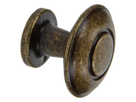 Sam Meubelknop 31mm brons