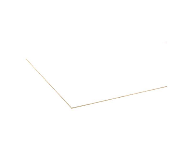 Meubelpaneel 250x125 cm 10mm wit