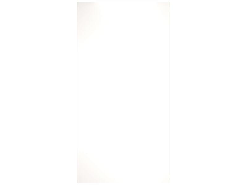 Meubelpaneel 250x125 cm 18mm wit