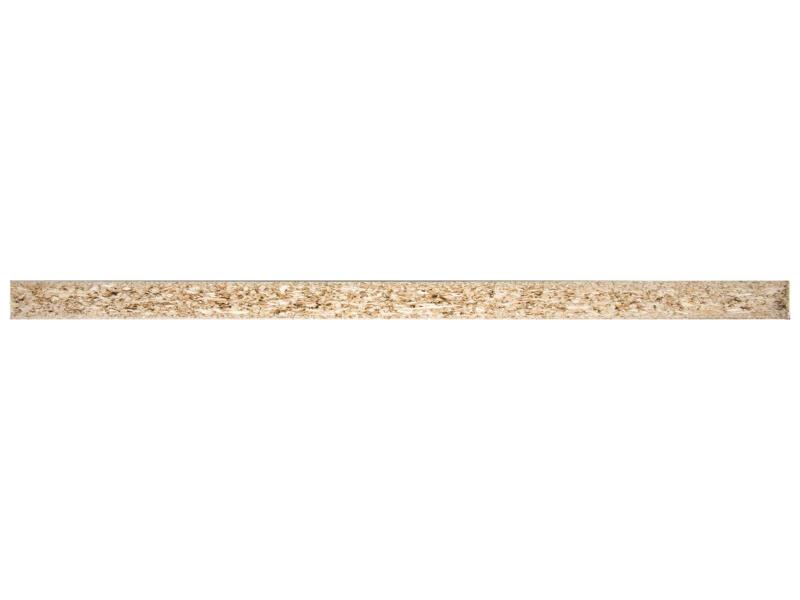 Meubelpaneel 250x35 cm 18mm wit