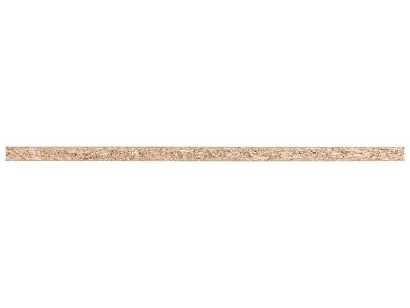 Meubelpaneel 250x50 cm 18mm wit