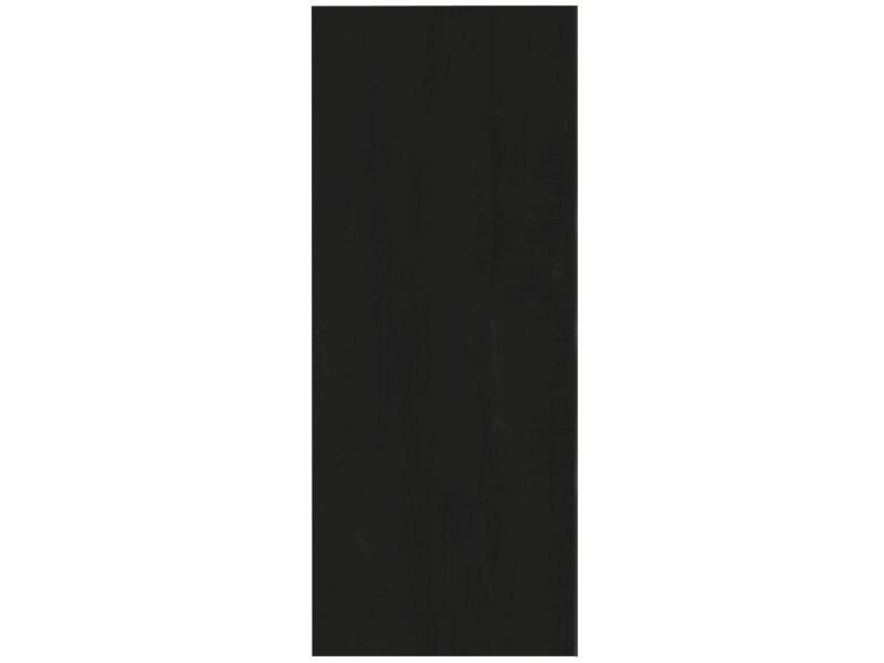 Meubelpaneel 250x60 cm zwart