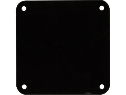 Meubelpoot 50x50 mm 72cm metaal zwart