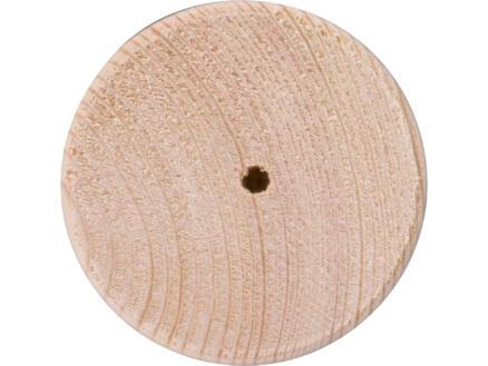 Meubelpoot rond 70mm 80mm grenen
