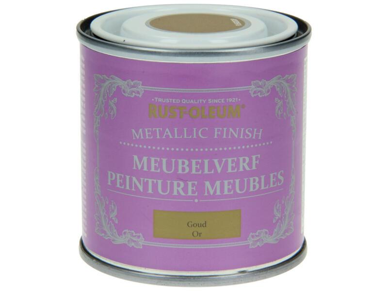 Rust-oleum Meubelverf 0,125l metallic goud