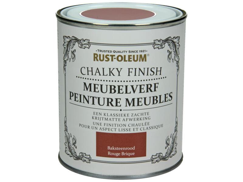 Rust-oleum Meubelverf 0,75l baksteenrood