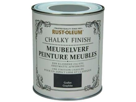 Rust-oleum Meubelverf 0,75l grafiet