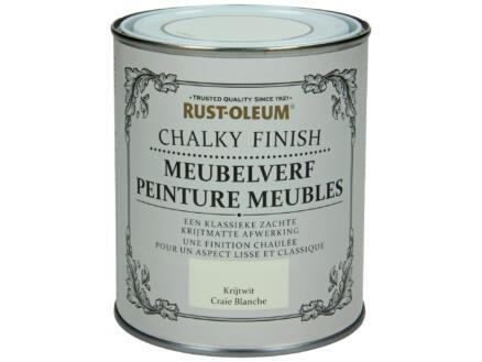 Rust-oleum Meubelverf 0,75l krijtwit