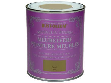 Rust-oleum Meubelverf 0,75l metallic goud