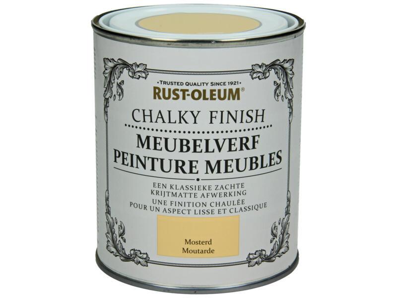 Rust-oleum Meubelverf 0,75l mosterd