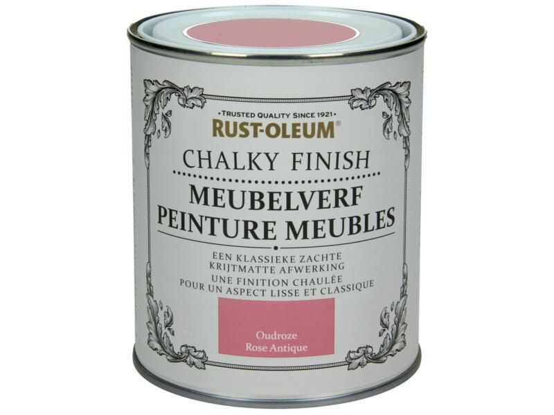 Rust-oleum Meubelverf 0,75l oudroze