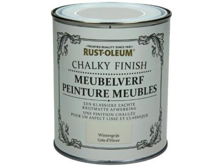 Rust-oleum Meubelverf 0,75l wintergrijs