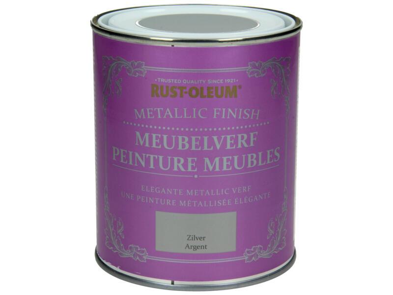 Rust-oleum Meubelverf 0,75l zilver