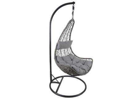 Garden Plus Mijas fauteuil suspendu gris