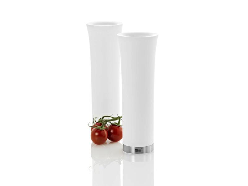 Milano moulin à poivre et à sel avec éclairage électrique LED blanc