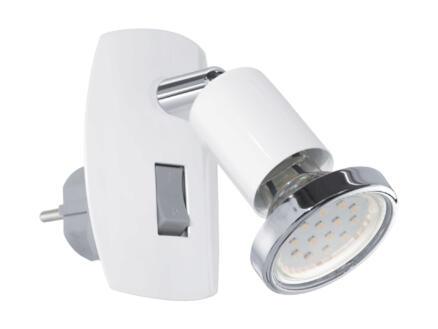 Eglo Mini 4 LED stekkerspot GU10 3W wit