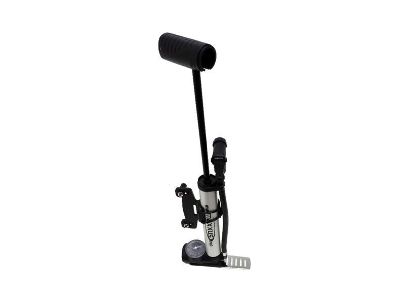 Maxxus Mini Combo voetpomp 24cm + manometer