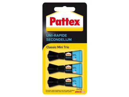 Pattex Mini-Trio secondelijm 3g