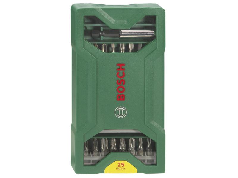 Bosch Mini X-Line coffret d'embouts 25 pièces