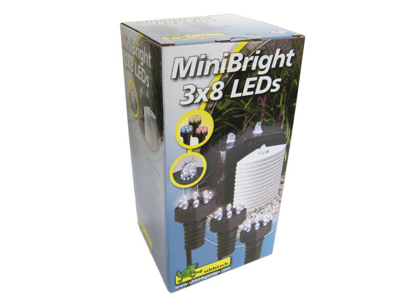 Ubbink MiniBright LED lampe de bassin 3W 3x8