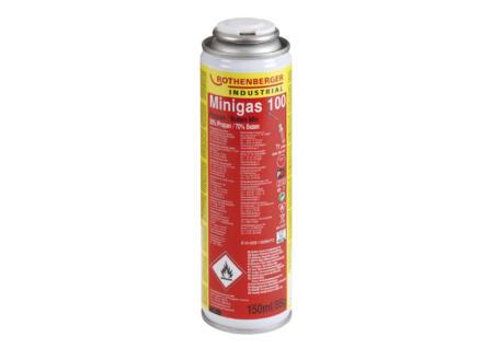 Rothenberger Minigas 100 cartouche de gaz 150ml