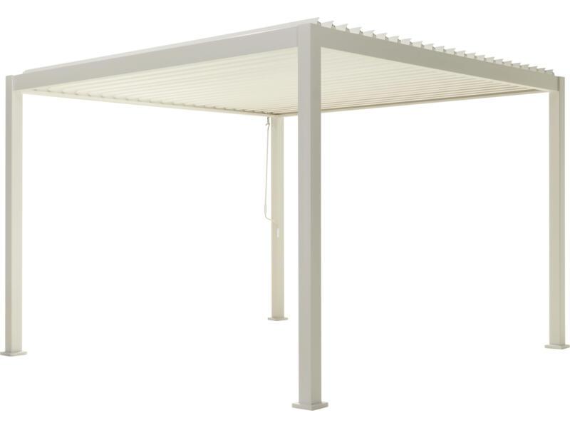 Mirador Classic paviljoen 300x300 cm wit